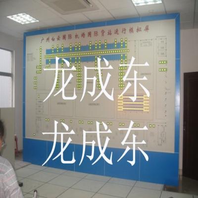 广州白云机场模拟屏