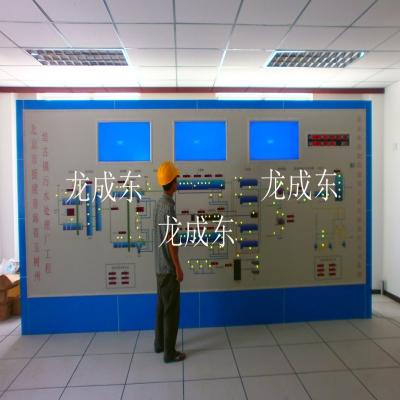 青海玉树马赛克模拟屏